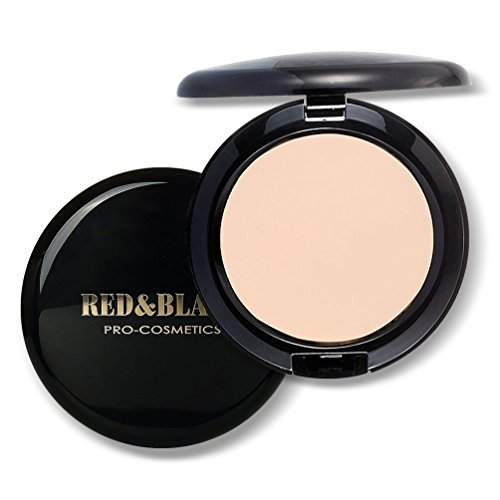 Sacelady Full Coverage Compact Cream Foundation, Make-up Wasserdichte lang anhaltende Creme Foundation, 0,63 Unzen ,Licht natürlich