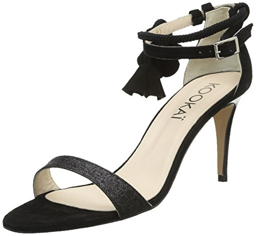 Kookai Virgin, Sandales femme - Noir (Z2 Noir), 37 EU