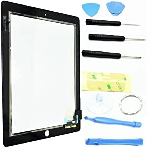 brand new REPLACEMENT LCD TOUCH SCREEN DIGITIZER GLASS FOR apple IPAD 2 Black--ukdigitalbay