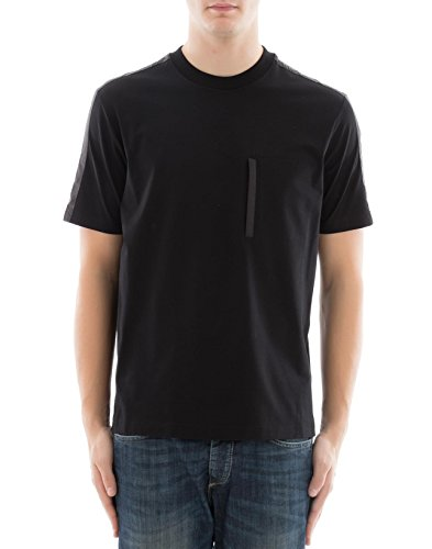 Prada Herren 3S1811kg6f0806 Schwarz Baumwolle T-Shirt (Prada Herren Shirt)