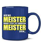 Golebros Nur Wo Meister Drauf Steh IST Auch Ein Meister Drin 6122(Blau)