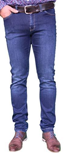Saint James Herren 5 Pocket Jeans dunkelblau Gr.46, Gr.48, Gr.50, Gr.52, Größe:50 - James Jeans 5-pocket-jeans