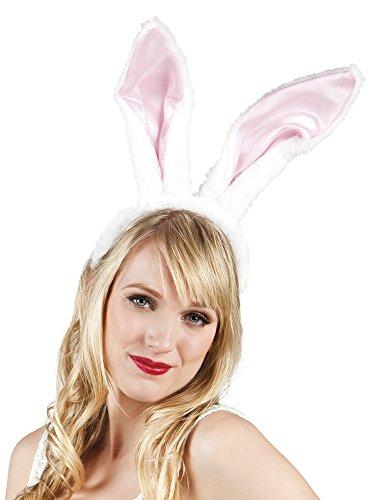 erdbeerclown- Hasen Ohren Hut Haarreif Bunny, (Löwe Tiger Kostüm Bär Halloween)