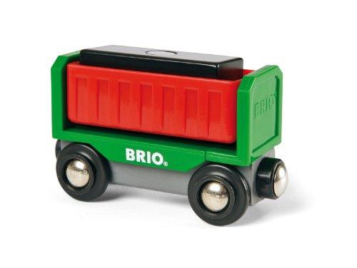 Brio - 33566 - Jouet Premier Age - Wagon de Déchargement