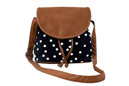 Lychee Bags Women\'s Sling Bag (Black,Lbhbcp14Po)
