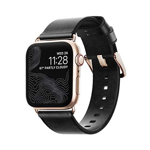 Nomad Hält einer 5-20 kgf (entspricht ca. 49-196 Newton) starken, seitlichen Krafteinwirkung stand, wenn es an der Apple Watch angebracht ist