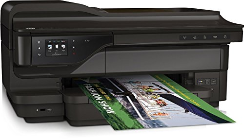 HP Officejet 7612 Colour Multifunctional Printer + Extra Full Set Of Compatible XL Inks (Black 1000, C,M,Y 825 Pages)