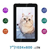 TXVSO 7 Pulgadas Tablet PC - Google Android 5.0.1 MTK8127 Quad Core 1.3GHz, 1024 * 600 Pantalla HD,...