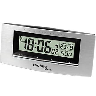 Technoline Funkwecker WT 182 mit Innentemperaturanzeige und Datums-/ Wochentagsanzeige (B002DNV6OG) | Amazon price tracker / tracking, Amazon price history charts, Amazon price watches, Amazon price drop alerts