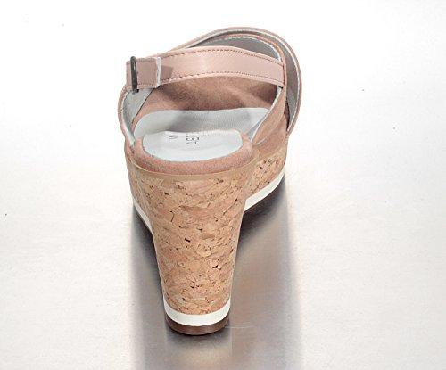 Marion Spath  345-200-nude, chaussures compensées femme couleur chair