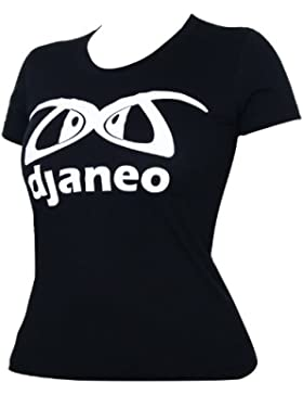 Camisetas deportivas algodón Sao Paulo Djaneo para mujer en 3 colores