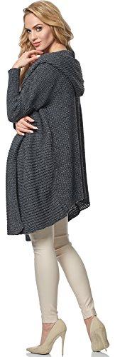 Merry Style Damen Cardigan MSSE0026 Graphite