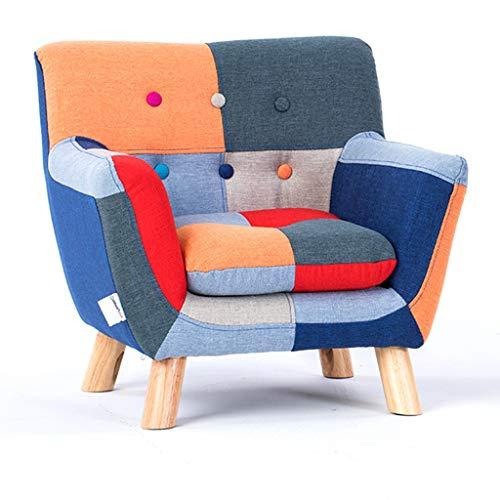 Divano reclinabile per bambini con braccioli e schienale, poltrona lounge in tessuto