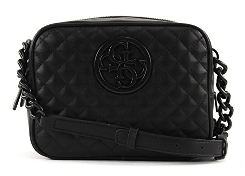 Guess Umhängetasche G LUX Crossbody Top Zip black, VB662312 (Zip-handtasche Top)