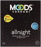Moods All Night Condoms (20 Condoms) - Pack of 2