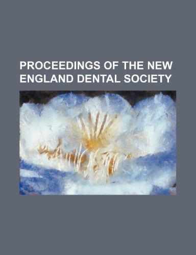 Proceedings of the New England Dental Society