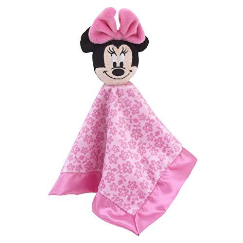 Disney Minnie Mouse Lovey Sicherheits-Decke, Rosa/Rosa -