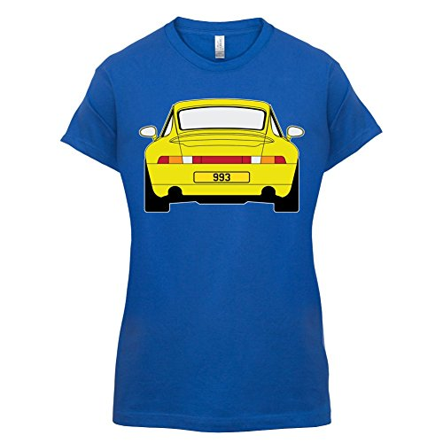 Porsche 993 Gelb - Damen T-Shirt - 14 Farben Royalblau