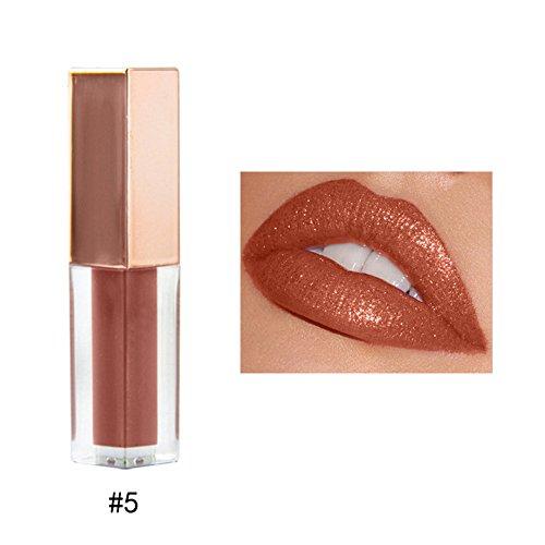 10 Rossetto,OHQ MODA Lucidalabbra Matite Per Labbra Pennarelli Da E Rossetti Liquidi Primer Rossetto Lip Gloss Colori Nude Velvet Lip-Gloss...