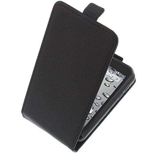 foto-kontor Tasche für CAT S30 Smartphone Flipstyle Schutz Hülle schwarz
