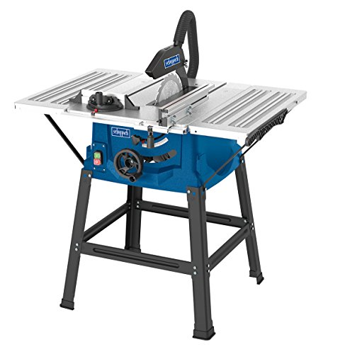 Scheppach HS100S 240 V 10-Inch Table Top Saw Bench - Blue Test