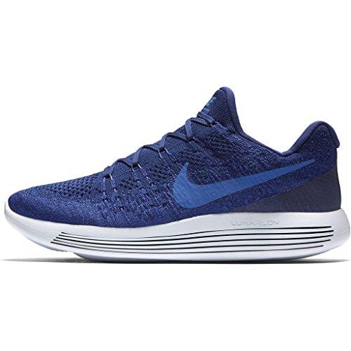 Nike, Kinder-Fussballschuhe, JR TIEMPO RIO FG-R Deep Royal Blue/Medium Blue