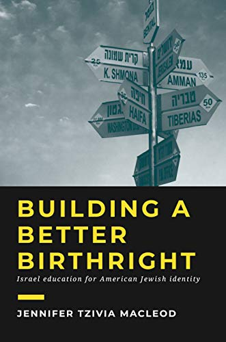 Building a Better Birthright: Israel Education for American Jewish Identity (English Edition)