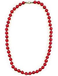 Coral, Kugelkette 12 mm, Rot