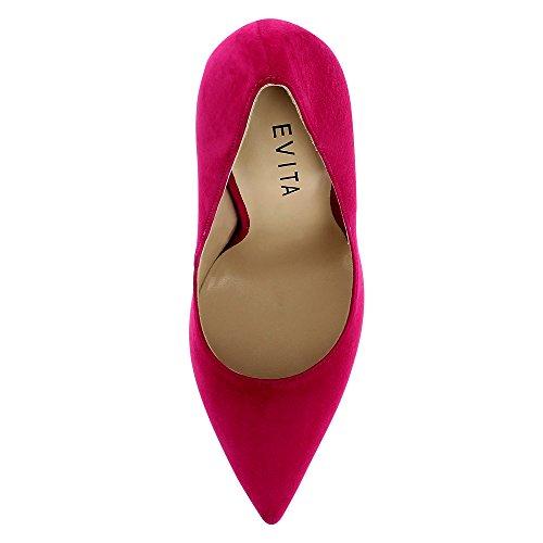 Evita Shoes Lisa, Scarpe col tacco donna Pink