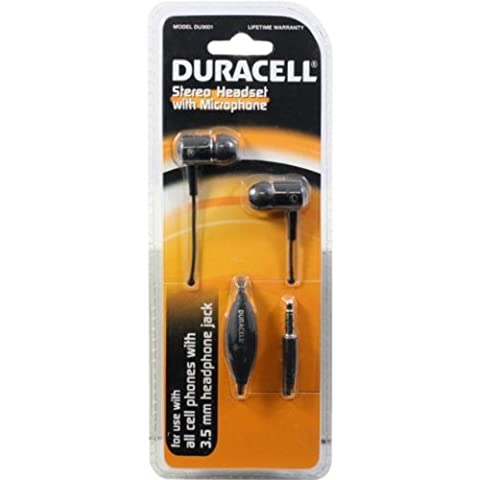 Duracell Stereo Headset w/microphone