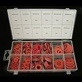 Toolzone - Surtido de arandelas de fibra (600 unidades)