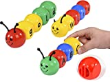 Best 1year Old Girl Toys - GoAppuGo Caterpillar Alphabet Learning Toys for Babies Infants Review