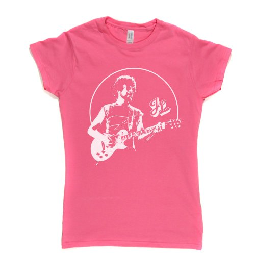 Jeff Lynne Womens Fitted T-Shirt Rosa