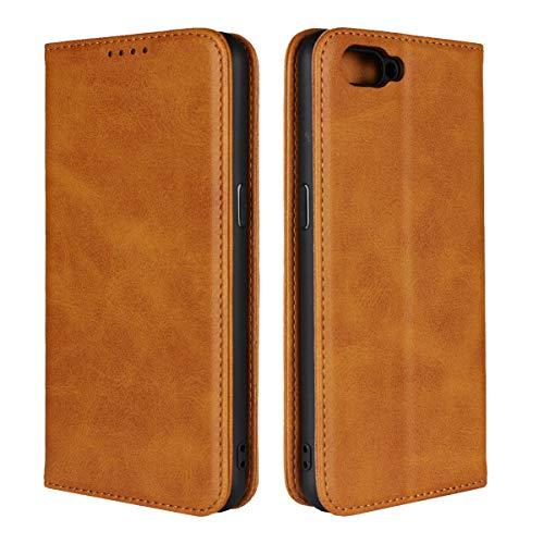 Custodia® Flip Brieftasche Hülle für Oppo R15 Neo(Muster 4)