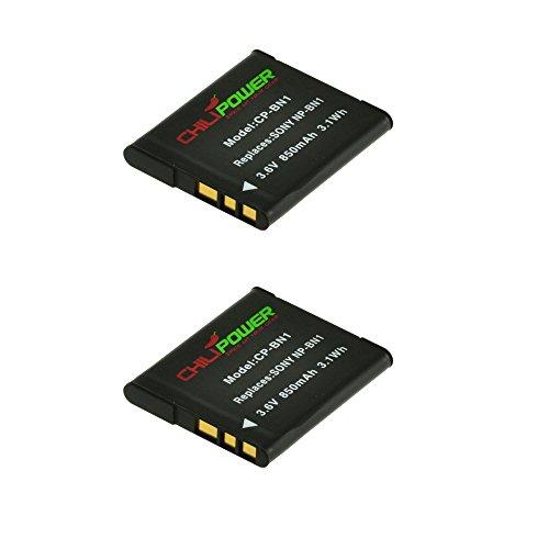 2x-chilipower-np-bn1-batteria-850mah-per-sony-cybershot-dsc-wx30-dsc-wx50-dsc-wx70-dsc-wx80-dsc-wx15