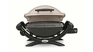 Weber 50060053 Q 1000 Barbecue à Gaz Titane