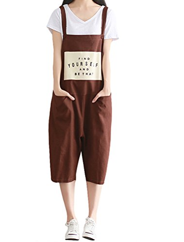Vogstyle Damen Overall Gr. Large, Style 2-Coffee