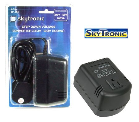 Image of (Skytronic) USA - UK Voltage Converter 100w