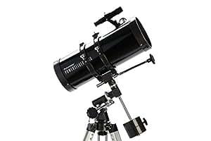 Celestron PowerSeeker (immagine verticale, con grande treppiedi telescopico)