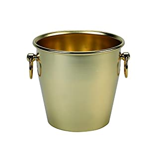 Pentole Agnelli Buffet Anodized Smooth Heavy Champagne Bucket, Colour-Gold, One Size