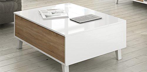 Habitdesign 0f6633bo mesa de centro elebable comedor - Habitdesign muebles ...