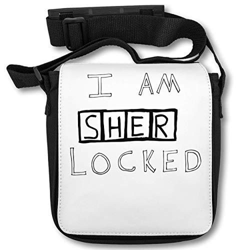 I Am Sherlocked T-Shirt Schultertasche (Herr Luke Valentine)