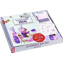 Kreativ-Set: Geschenke aus der Küche: Buch mit 6 Minibackformen, 6 Klarsichtbeuteln, Faltpapier, Masking Tape, Bakers Twine und Satinband (Buch plus Material)