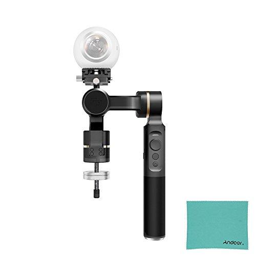 FeiyuTech G360 Caméra Panoramique Cardan pour RICOH THETA SC pour INSTA360 NANO pour Samsung Gear 360 pour NIKON KeyMission pour Gopro pour Sony FDR-X3000 pour Mijia de romaric pour Kodak Pixpro etc