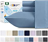 California Design Den Dobby Damask Stripe 500 Thread Count Sheet Set Cotton