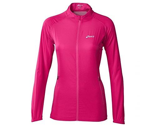 ASICS WOVEN Women's Laufjacke Pink