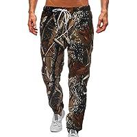 Deportivo Pantalones de Camuflaje para Hombre, Moda Fitness Jogging Running Pantalón Largos con Bolsillos Cómodo Cintura Elástica Casual Outdoor Pantalones