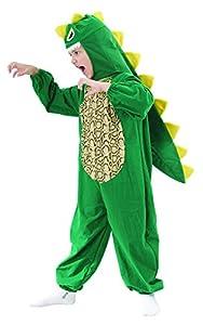 Reír Y Confeti - Fibani019 - Disfraces para Niños - Pequeño traje de dinosaurio - Talla M