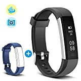 Smart Fitness Band, MUZILI 115U Activity Tracker, IP67 Waterproof Fitness Tracker Pedometer, Smart