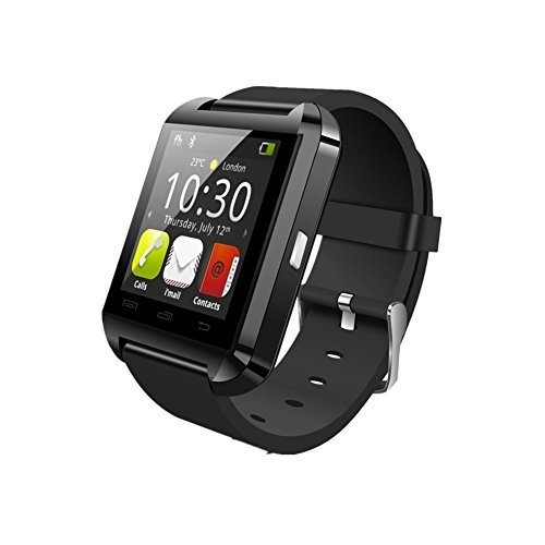 JideTech Bluetooth Smart Watch Armbanduhr U8 UWatch für Android Samsung S2/S3/S4/Note 2/Note 3 HTC Sony